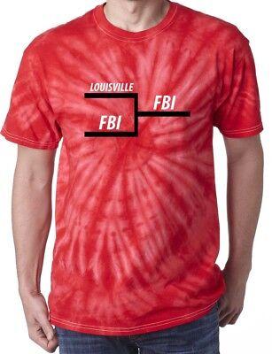 Rick Pitino Louisville Cardinals FBI Tournament Bracket  T-shirt Shirt