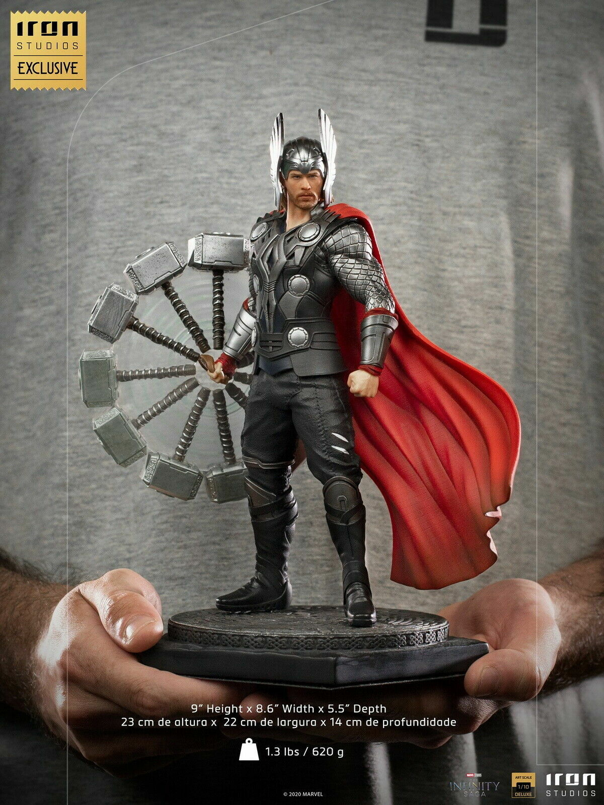 1/10 Iron Studios Thor Statue Mini Figure 9in. Avengers Static Figurine Model To on eBay thumbnail