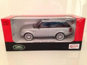 Range-Rover-Sport-Silver-1-43-Scale-Rastar-36600-New-FREE-UK-POSTAGE