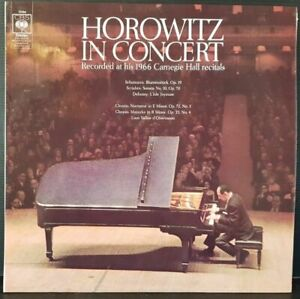 Scheibe-Classic-33-Time-Horowitz-IN-Concert-1966