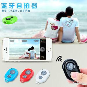 wireless bluetooth selfie camera remote control shutter