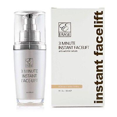 Erase Cosmetics 3 minutes Instant Face Lift Cream and Serum Erase Anti Aging