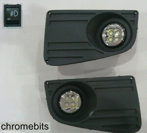 LED-Lamparas-De-Niebla-Drl-Luces-De-Circulacion-Diurna-Parrilla-Set-Para-VW-Passat-2006-Nuevo
