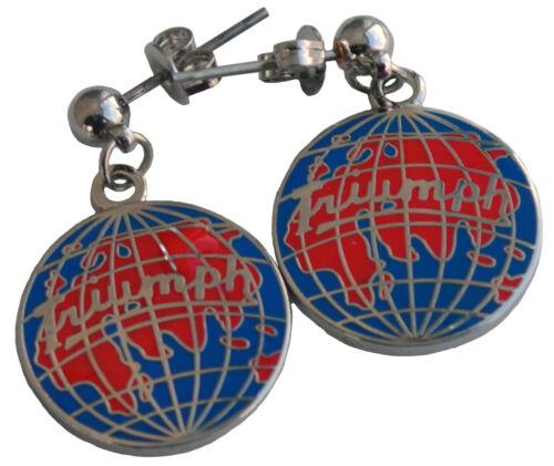 Triumph globe Earrings world