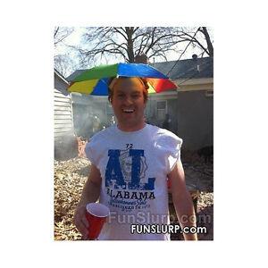cdc030aefa793 Umbrella Hat-Sun or Rain-Shade Coverage Hat- Funny Gag gift- NEW