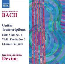 Guitar Transcriptions-Cello Suite No. 4 Violin Par, New Music