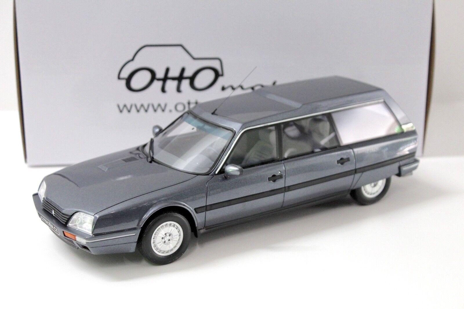 1 18 Otto Citroen cx25 TRD Turbo 2 meteor gris 1991 NEW chez Premium-modelcars
