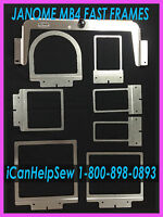 Fast Frames 7n1 Embroidery Hoop Set-melco Ep4,elna 9900/expressive 940+bonus