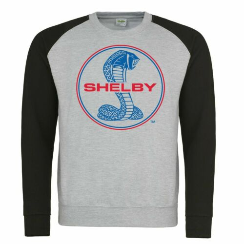 Genuine FORD MUSTANG SHELBY COBRA Logo Sweat-shirt American V8 Classic Muscle Voiture