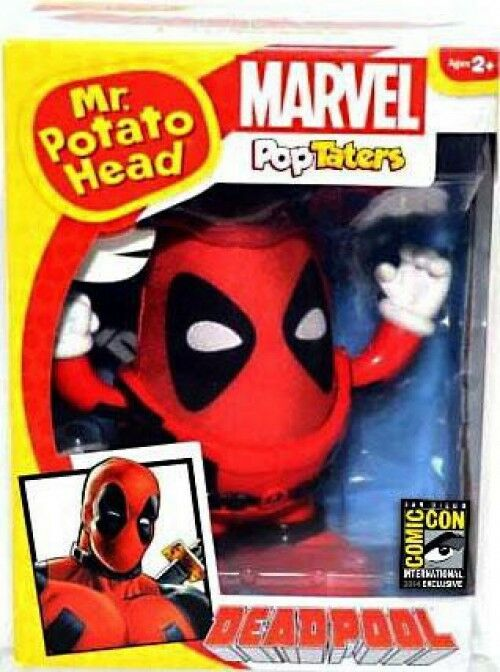 Marvel Deadpool Mr. Potato Head Dead Peel Exclusive Figure