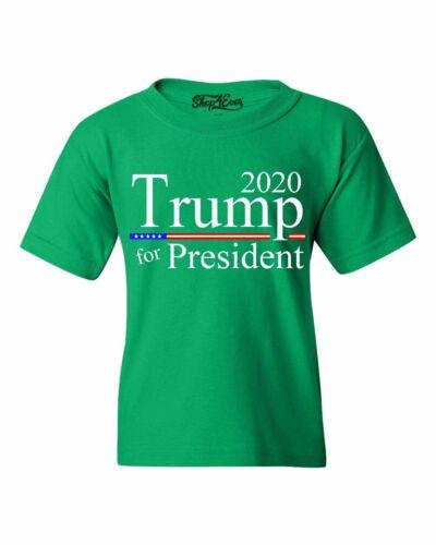 Trump For President 2020 Youth/'s T-Shirt Maga Keep America Great Shirts