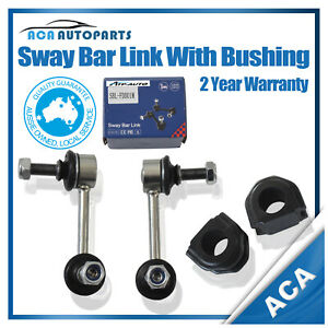 POLYPRO-FRONT-Pair-2-SWAY-BAR-LINK-D-BUSHES-for-FORD-FALCON-AU2-BA-BF-FPV