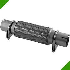 70x150 Flexrohr Flexstück mit Rohrstücken Montage ohne Schweißen Auspuff Rohr