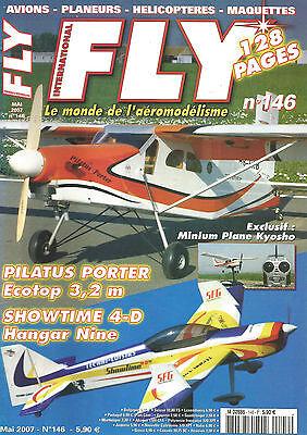 FLY N° 146 PLAN : ELECTR'HALLOWEEN / PILATUS PORTER / SHOWTIME 4-D / KYOSHO