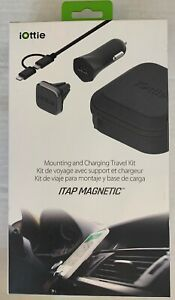 iOttie-ITAP-Magnetic-Car-Air-Vent-Mount-Charging-Kit-w-Micro-USB-amp-Lightning