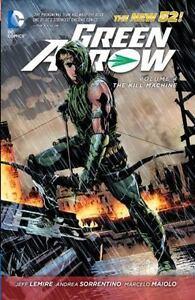 Green-Arrow-The-Kill-Machine-Vol-4-by-Jeff-Lemire-2014-Paperback