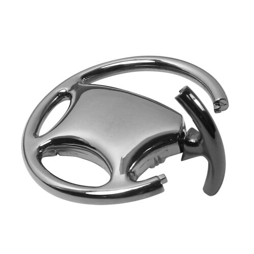 Nissan 350Z Black Chrome Steering Wheel Keychain OLP Lifetime Warranty