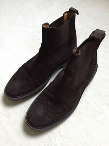 pertini chelsea boots stiefeletten gr 38 leder stiefel schuhe budapester agl ebay. Black Bedroom Furniture Sets. Home Design Ideas