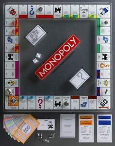 Edicion-De-Vidrio-Templado-soluciones-ganador-monopolio-Juego-De-Mesa-Nuevo