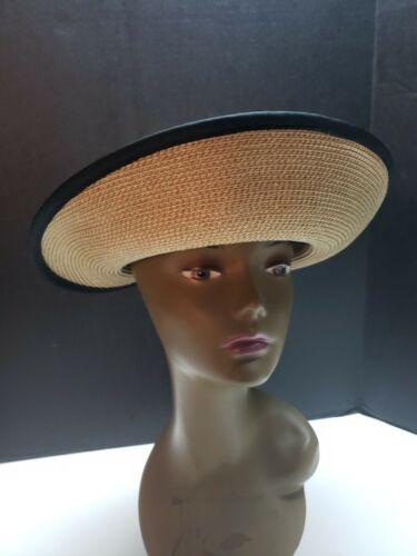 Eric Javits Wide Brim Hat Woven Straw Bucket Hat G