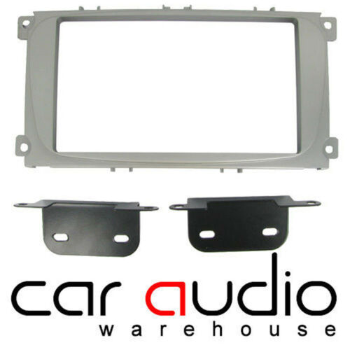 Connects2 CT23FD08 Ford S-Max 2007 On Car Stereo Double Din Fascia Plates Kit