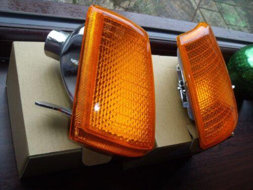 PEUGEOT 205 GTI Ambre Orange Front Indicator Light ** un seul N//S Ou O//S ** nouveau 1