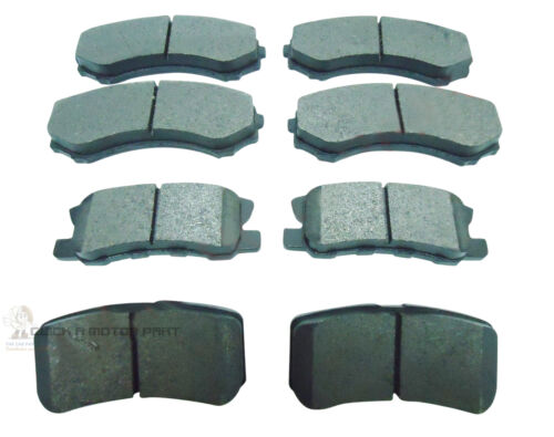 FRONT AND REAR BRAKE DISC PADS SET NEW FOR MITSUBISHI GRANDIS 2.0 DI-D 2.4 05-11