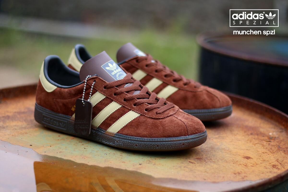 Adidas Blanco Originals Spezial Munchen corteza / arena / vintage Blanco Adidas s828(todos los tamaños) spzl 257c57