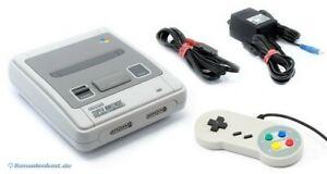 Nintendo-SNES-Konsole-Controller-Zub-sehr-guter-Zustand