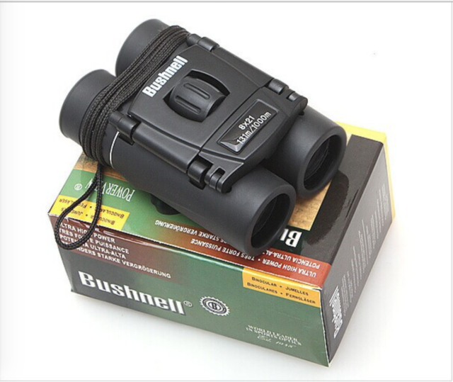 8x21 All-optical Bushnell Binocular Portable High Times Telescope 90