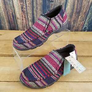 On Fabric Moc Slip 52356297283 Shoes Womens Roper Driving Jackie 5 Size Red 5 R0XOq