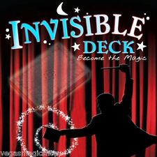 Invisible Deck Pro Brand Poker Size -Magic Trick Playing Cards -Fun & Easy to Do