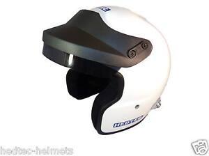 NEW-Hedtec-Rapido-FHR-HANS-Open-Face-Motorsport-Helmet-Snell-SA2015