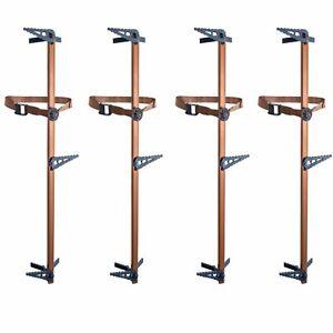 Lone-Wolf-Treestands-Climbing-Stick-4-Piece-Pivoting-Bracket-Quiet-Mobile