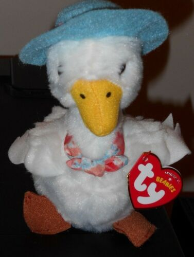 2018 Ty Beanie Babies ~ JEMIMA PUDDLE DUCK (Peter Rabbit Movie) 6 NEW ~ IN HAND