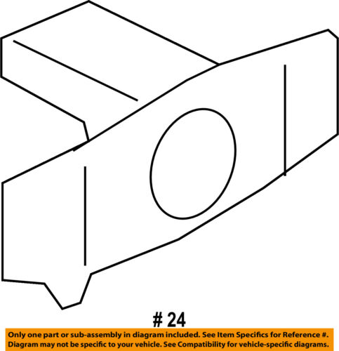 FORD OEM 13-18 Taurus-Bumper Cover Mounting Kit DG1Z15K861A