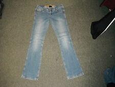 "Gold Digga Bootcut Jeans Size 10 Leg 32"" Faded Medium Blue Ladies Jeans"