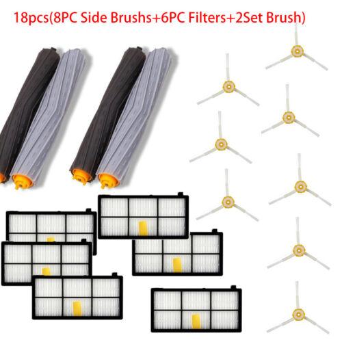 Brush Filter For Irobot Roomba 800 880 890 900 Series Part Kit Vacuum 4//10//18PC