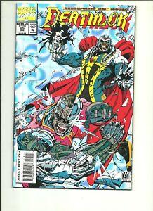 Deathlok #25 Marvel Black Panther Moses Magnum cyborg Dwayne McDuffie chrome VF
