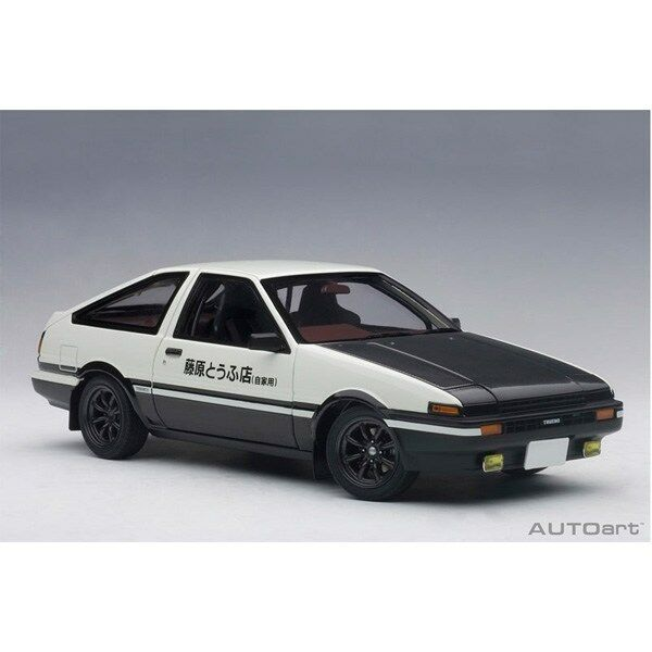 AUTOart 1 18 Toyota Sprinter Trueno AE86 Initial D Project D final version