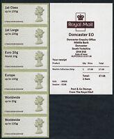 DONCASTER EO TIII 1st CLASS MA13 MACHIN COLL SET M006 C7GB15  POST & GO