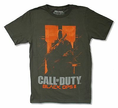 """CALL OF DUTY """"BLACK OPS"""" CHARCOAL T-SHIRT NEW OFFICIAL ADULT"""