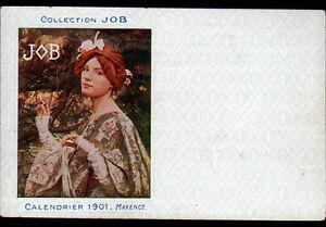 PAPIER-CIGARETTE-JOB-CALENDRIER-1901-illustre-par-MAXENCE-avant-1904