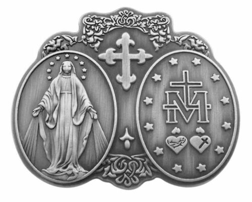 Our Lady of Grace Miraculous Medal Visor Clip NEW SKU VC783