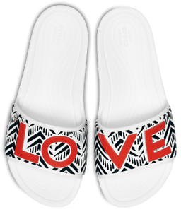 04b2e53f4788 Crocs Slide Sandals Drew Barrymore Open Toe Womens Lightweight Flat ...