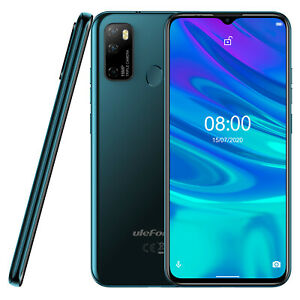 Unlocked Cell Phone 4G Android 10 Octa Core 64GB Face ID Dual SIM Smartphone
