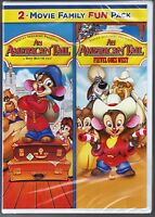 2-movie Family Fun Pack - An American Tail 1 & 2 - Dvd Brand