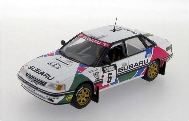 IXO rac218 SUBARU LEGACY modèle de voiture Berglund   Vatanen 1000 lacs RALLYE 1992 1 43 RD