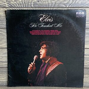 Elvis Presley He Touched Me 1972 LSP4690 LP Record RCA Records