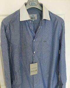 Mens-BNWT-VIVIENNE-WESTWOOD-krall-long-sleeve-shirt-size-V-XL-RRP-275